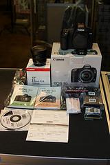 Canon EOS 5D Mark II With Lens
