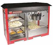 Оборудование попкорн, сладкая вата, зерно кукурузы, добавки, палочки