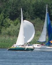 Продается яхта минитонник