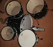 Продам барабанную установку PDP DW Mainstage+тарелки Sabian B8