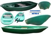 Лодка стеклопластиковая Лагуна-М длина 3.5 метра.