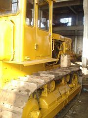 Трактор Т-130 ЧТЗ №1 рабочий 100% работал как прицепной скрепер,  фото