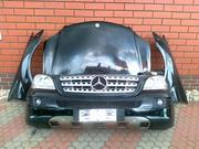 Mercedes ml 164 капот бампер фара телевизор