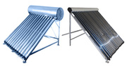 Установка солнечных коллекторов (водонагревателей)