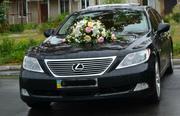 Аренда автомобиля с водителем на свадебные торжества