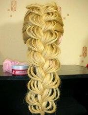Плетение кос. Обучение в Херсоне.