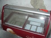 Продам морозильную витрину для твердого мороженого бу для кафе