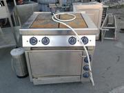 Продам плиту с духовкой ES-T47/1 Kogast бу для ресторанов