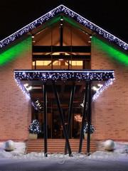 Гирлянда - сталактиты (рваная штора),  3x0, 5м