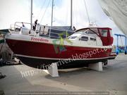 Пошив ходовых тентов для парусных и моторных яхт