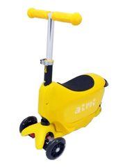Самокат Scooter Aimi 3в1 желтый