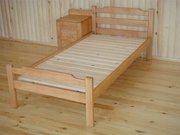 Деревянные полуторные кровати