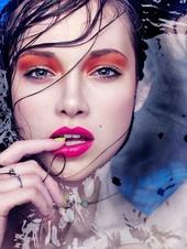 Курс макияж smoky-eyes в учебном центре Нота Бене