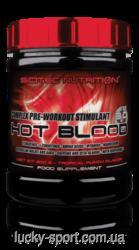 Предтренировочные комплексы Scitec Nutrition Hot blood 3.0 300 g blue
