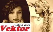 Курсы плетения греческих и французских кос. УЦ Vektor.