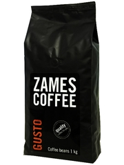 Кофе в зернах ZAMES COFFEE GUSTO 1 кг 30/70