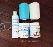 Продам кокосовый шампунь,  кондиционер для волос.Украина