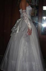 эксклюзивное счастливое свадебное платье