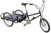 Велосипед трёхколёсный грузовой- велорикша